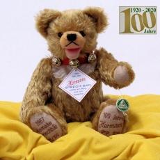 HERMANN Sprechbär Remake nach Modell-Vorlagen der HERMANN-Sprechbären von 1967 35 cm Teddy Bear by Hermann-Coburg