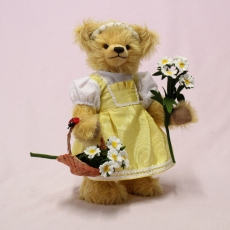 Flower Girl Franzi 32 cm Teddy Bear by Hermann-Coburg