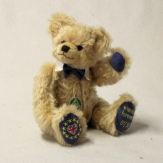 BREXIT – Bear friends forever 31 cm Teddy Bear by Hermann-Coburg