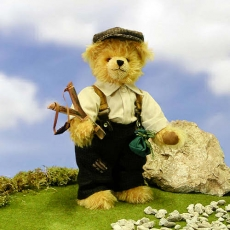 Zwispel Bär 31 cm Teddybär von Hermann-Coburg