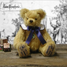 Little Toy Symphony 35 cm Teddy Bear by Hermann-Coburg