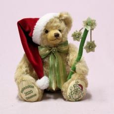 HERMANN Christmas Bear 2020  cm Teddy Bear by Hermann-Coburg