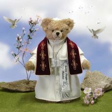 Summus Pontifex FranciscusMasterpiece 40 cm Teddy Bear by Hermann-Coburg