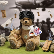 Candy Bomber Pilot 37 cm Teddy Bear by Hermann-Coburg
