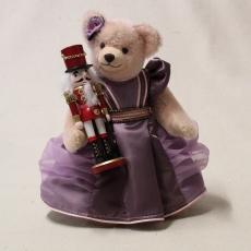Clara and the Nutcracker  33 cm Teddy Bear by Hermann-Coburg