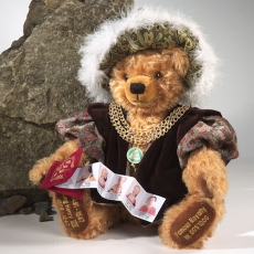 King Henry VIII 42 cm Teddy Bear by Hermann-Coburg