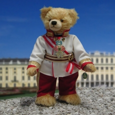 Kaiser Franz Joseph I von Österreich 40 cm Teddy Bear by Hermann-Coburg