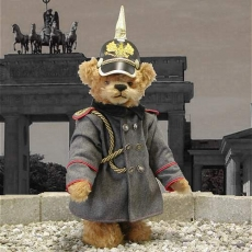 Kaiser Wilhelm II  40 cm Teddy Bear by Hermann-Coburg