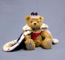 König Ludwig II of Bavaria 35 cm Teddybär von Hermann-Coburg