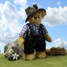 Ludwig of Bavaria 36 cm Teddy Bear by Hermann-Coburg
