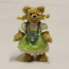 Bavarian Marksmens Girl 34 cm Teddy Bear by Hermann-Coburg