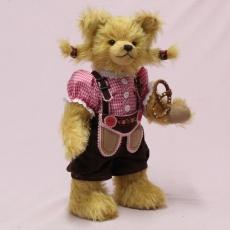 "Oktoberfest-Girl ""Leni"" 34 cm Teddy Bear by Hermann-Coburg"