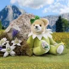 Kleiner Edelweiß Bär 18 cm Teddybär von Hermann-Coburg
