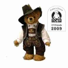 Old Bavarian Bear  37 cm Teddy Bear by Hermann-Coburg