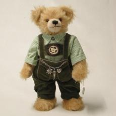 Johannes von Bärenstein 37 cm Teddybär von Hermann-Coburg