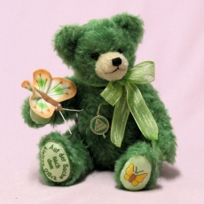 In search of a little happiness 32 cm Teddy Bear by Hermann-Coburg