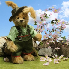 Easter bunny Paul 35 cm Teddy Bear by Hermann-Coburg