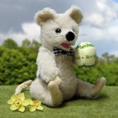 Little Easter Mouse 19 cm Teddy Bear by Hermann-Coburg