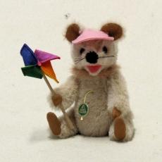 Eine kleine Herbstmaus 19 cm Teddybär von Hermann-Coburg
