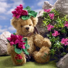 Alpenrose - Alpine Rose 35 cm Teddy Bear by Hermann-Coburg