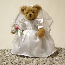 Wedding Bear  BrideMasterpiece 35 cm Teddy Bear by Hermann-Coburg