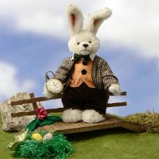 White Rabbit 30 cm Teddybär von Hermann-Coburg