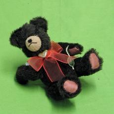 Kleiner Bär mit goldenem Herz 19 cm Teddybär von Hermann-Coburg