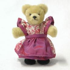 Miniatur Steh-Bär Bavarian Girl 14 cm Teddy Bear by Hermann-Coburg