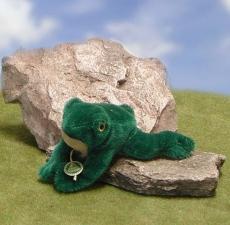 Fred the Frog 15 cm Teddy Bear by Hermann-Coburg