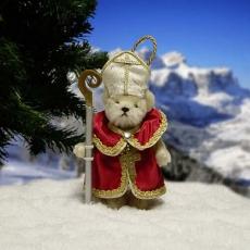 Heiliger Sankt Nikolaus 11 cm Teddybär von Hermann-Coburg