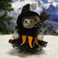 Little good Witch 11 cm Teddy Bear by Hermann-Coburg