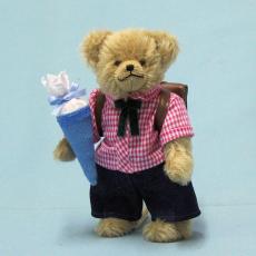 Schulkind Junge 22 cm Teddy Bear by Hermann-Coburg