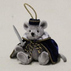 Mouse King 13 cm Teddybär von Hermann-Coburg