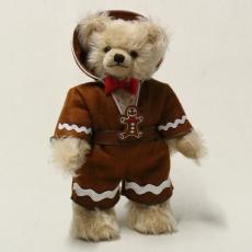 Jolly Gingerbread Man, der lustige Lebkuchenmann 33 cm Teddybär von Hermann-Coburg