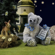 Silent Night Bear  (Modell 2018) 36 cm Teddy Bear by Hermann-Coburg
