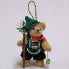 The Happy Wanderer 13 cm Teddy Bear by Hermann-Coburg