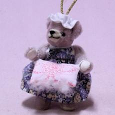 Mother Hulda 13 cm Teddy Bear by Hermann-Coburg