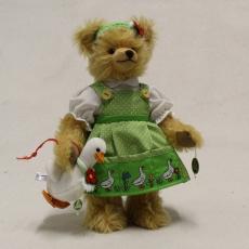 Gänseliesel 33 cm Teddybär von Hermann-Coburg