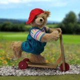 Scooter Rolfi 32 cm Teddy Bear by Hermann-Coburg