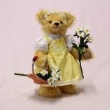 Blumen-Mädel Franzi 32 cm Teddybär von Hermann-Coburg