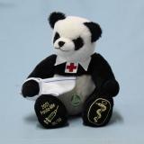 2021 - Panda - Mie   32 cm Teddybär von Hermann-Coburg