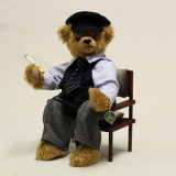 Helmut Schmidt in memoriam Teddy 38 cm Teddy Bear by Hermann-Coburg