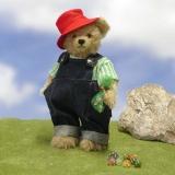 Marbles Beear 31 cm Teddy Bear by Hermann-Coburg