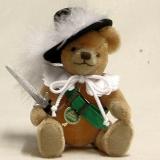 Club Bär 2014 – Einer für Alle – Alle für Einen 19 cm Teddybär von Hermann-Coburg