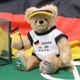 Deutscher Fan Bär EM 2020/2021 35 cm Teddybär von Hermann-Coburg