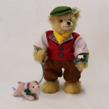 Hans in Luck 35 cm Teddy Bear by Hermann-Coburg