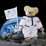 50 Jahre Mondlandung – Clubedition 2019 35 cm Teddybär von Hermann-Coburg