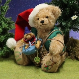 HERMANN Christmas Bear 2019 37 cm Teddy Bear by Hermann-Coburg