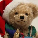 HERMANN Christmas Bear 2019 37 cm Teddy Bear by Hermann-Coburg