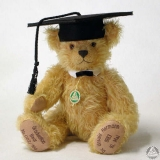 Graduation Individual Bear 34 cm Teddy Bear by Hermann-Coburg